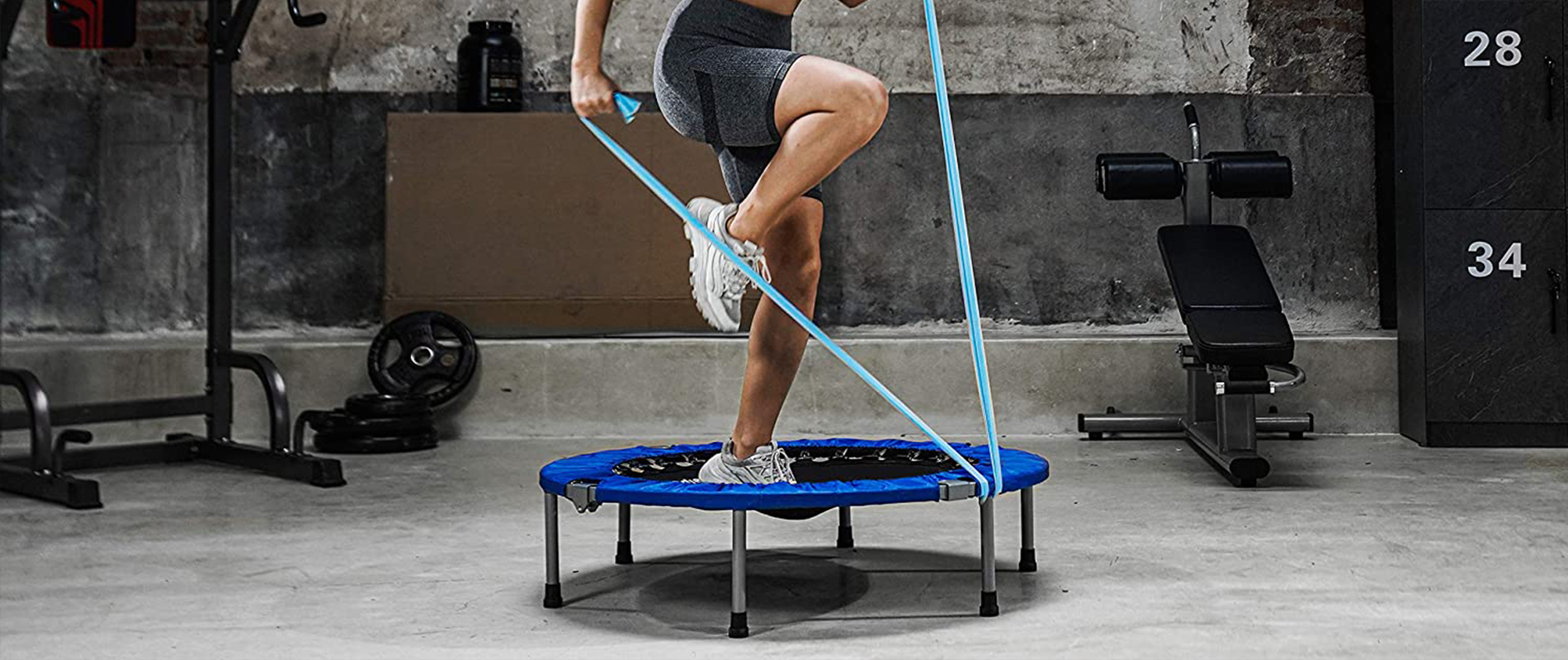 mini trampoline benefits