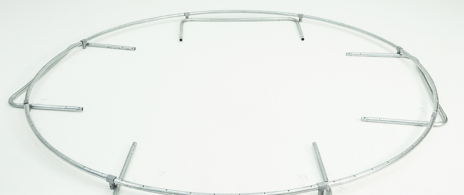 how to assemble a trampoline frame