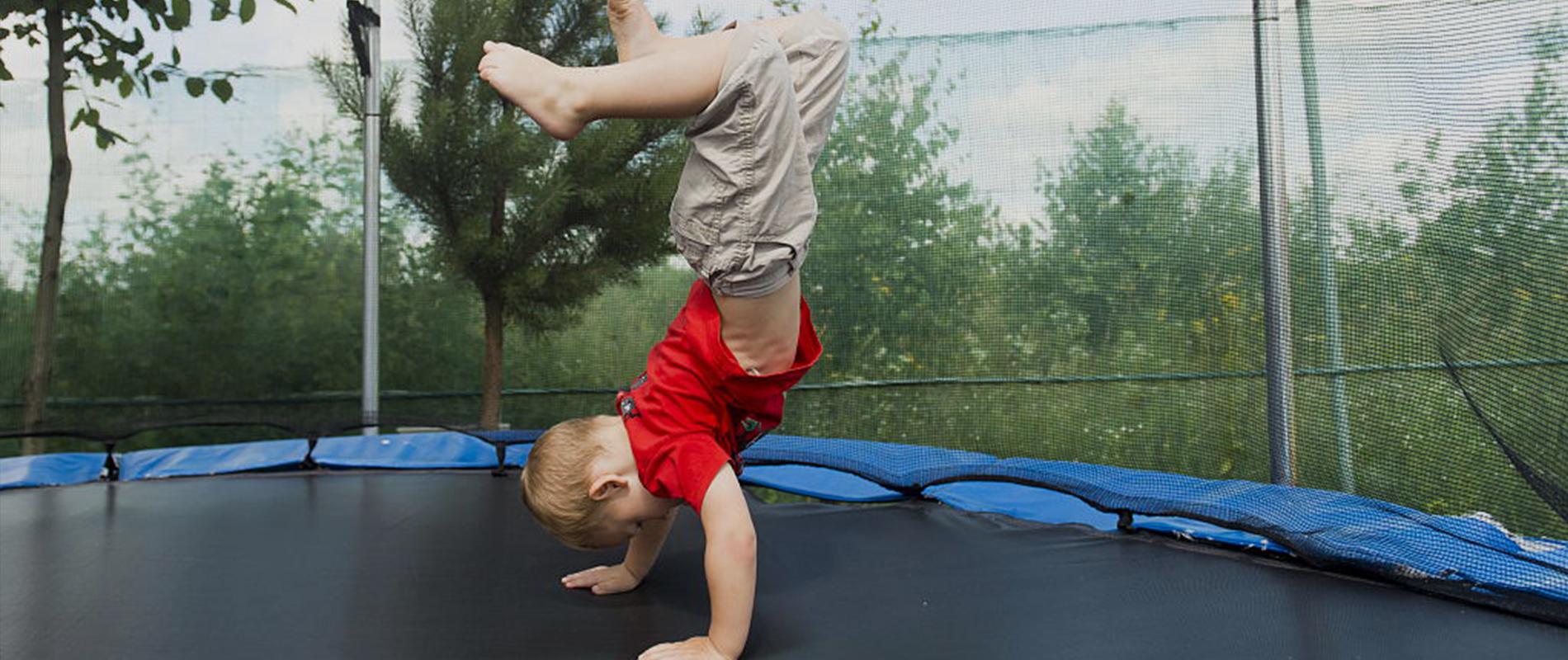 trampoline games for kids